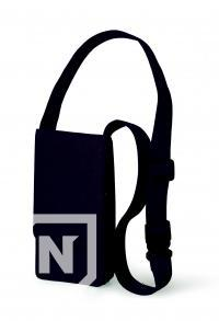 Trusa/suport neagra profesionala Nabuk tip postas din piele pentru instrumente de coafura