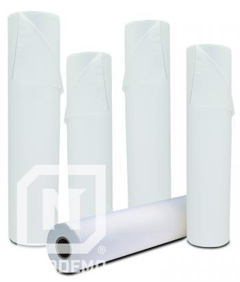 Rola hartie cu modele pt. pat cosmetica/cabinet medical - CELULOZA - 45cm(l) - 90m(L)