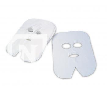 Masca pentru tratamente faciale - TNT 1022 - ALBA - 100buc./pachet