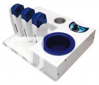 Incalzitor de ceara pt. cutii de 400 ml Combinato Trio + 3 incalzitoare ceara 100 ml