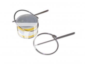 Cleste pentru ridicarea cutiei metalice de ceara epilat