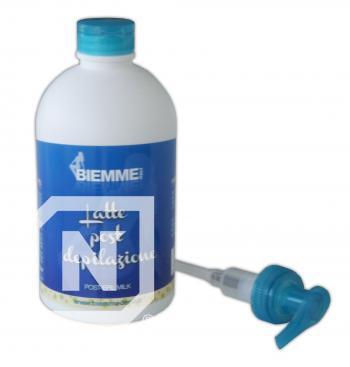 Lapte post-epilat - Mentolat + Vitamina E - 500 ml