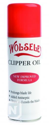 Ulei spray pentru uns lama masina pentru tuns parul  Wolseley - 200 ml