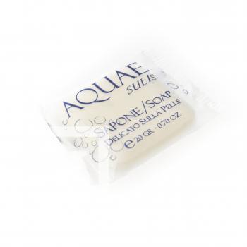 Sapun patrat cu pasta vegetala - 20 g