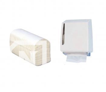 Prosoape pentru dispenser - CELULOZA - Impaturite in V - 210buc./pachet